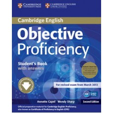 Objective Proficiency Student's Book Pack (Student's Book with Answers, Downloadable Software and Class Audio Cds )