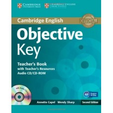 Objective Key Teacher's Book with Teacher's Resource Audio Cd/Cd-Rom