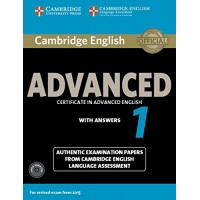 Cambridge English ADVANCED 1 Pack with answers
