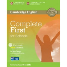 Complete First for Schools Workbook wiht Answers with Audio Cd