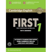 Cambridge English First 1 Pack