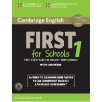 Cambridge English First for Schools 1 Pack