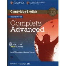 Complete Advanced Workbook with Answers and Audio Cd
