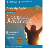 Complete Advanced Student's Book Pack with answers, Cd-Rom and Audio Cd