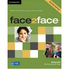 Face2Face Advanced Workbook with Answer Key