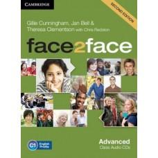 Face2Face Advanced C1 Class Audio Cds