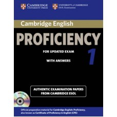 Cambridge English Proficiency 1 for Updated Exam Self-study Pack ( Student's Book with answers and Audio CDs )