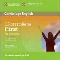 Complete First for Schools Class Audio Cds