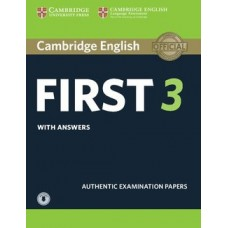 Cambridge English First Certificate 3 Pack