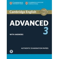 Cambridge English Advanced 3 Pack