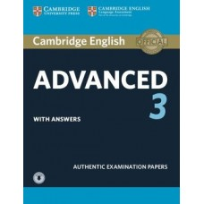 Cambridge English Advanced 3 Pack