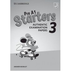 Cambridge English Starters 3 Answer Booklet