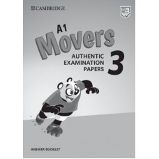 Cambridge English Movers 3 Answer Booklet