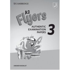 Cambridge English Flyers 3 Answer Booklet