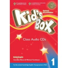 Kid's Box 1 Audio Cds