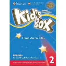 Kid's Box 2 Audio Cds