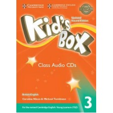 Kid's Box 3 Audio Cds