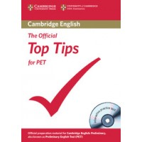 The Official Top Tips for Pet with Cd-Rom