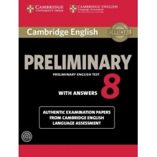 Cambridge Preliminary English Test 8 Pack