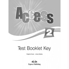 Access 2 Test Booklet Key