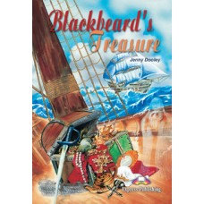 Graded Readers Beginner: Blackbeard's Treasure with Activity Book and Audio Cd