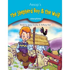 Storytime: The Shepherd Boy & the Wolf with Cd