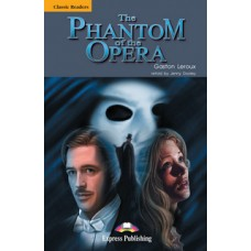 Classic Readers Upper-Intermediate: The Phantom of the Opera with Audio Cd