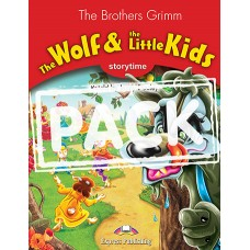 Storytime: The Wolf & the Little Kids - Pupil's Book (+ multi-ROM PAL)
