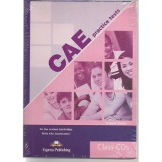 CAE Practice Tests Class Cds