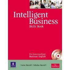 Intelligent Business Pre-Intermediate Skills Book and CD-ROM pack