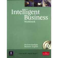 Intelligent Business Pre-Intermediate Workbook and CD pack