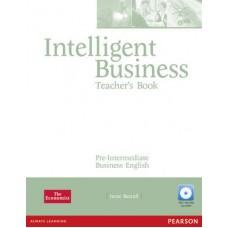 Intelligent Business Pre-intermediate Teacher`s Book and Test Master CD-Rom Pack
