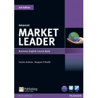 Market Leader 3rd Edition Advanced Level Coursebook and DVD-Rom Pack