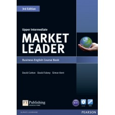 Market Leader 3rd Edition Upper Intermediate Level Coursebook and DVD-Rom Pack