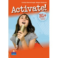 Activate! B1 Plus Workbook with Key/CD-Rom Pack