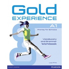GOLD EXPERIENCE A1 Grammar and Vocabulary Workbook