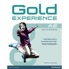 GOLD EXPERIENCE A2 Grammar and Vocabulary Workbook