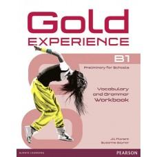 GOLD EXPERIENCE B1 Grammar and Vocabulary Workbook