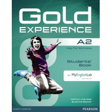 Gold Experience A2 Students' Book with DVD-ROM and My English Lab