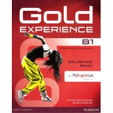 Gold Experience B1 Students' Book with DVD-ROM and My English Lab