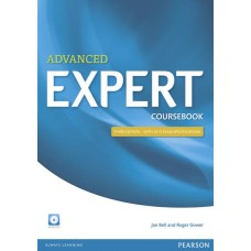 Expert Advanced 3rd Edition Coursebook with audio CD CEFR C1