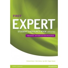 Expert First 3rd Edition Student's Resource Book with Key