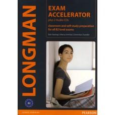 Longman Exam Accelerator and 2 CDs