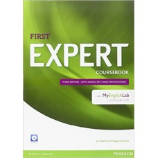FIRST EXPERT COURSEBOOK with Audio CD and MyEnglishLab Pack