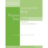Cambridge English First Practice Tests Plus 2