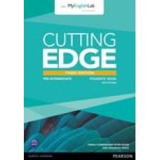 Cutting Edge Pre-Intermediate Student's Books with DVD