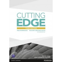 Cutting Edge Pre-Intermediate Teacher's Resource Book & Test Master Cd-Rom