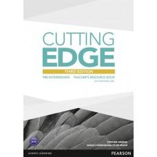 Cutting Edge Pre-Intermediate Teacher's Resource Book & Test Master Cd-Rom