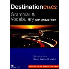Destination C1&C2 Grammar and Vocabulary with Key