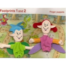 Footprints 1 Finger Puppet